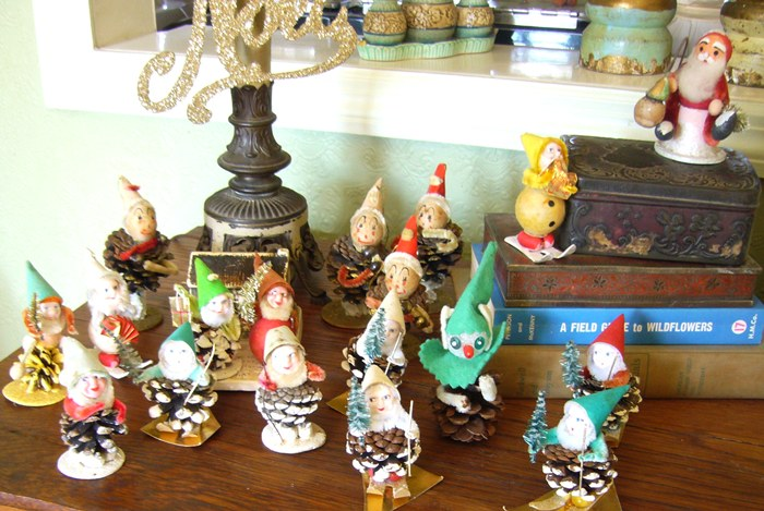 Pine Cone Elves Collection