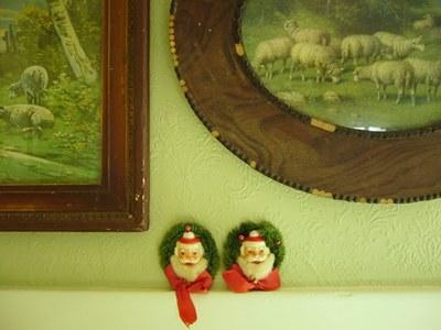 Vintage Santa Pins