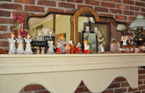 Vintage Christmas angel collection