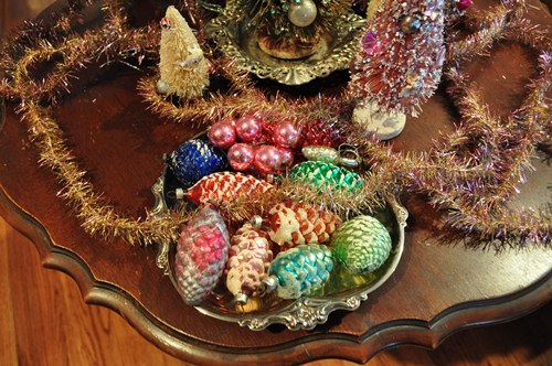 Vintage Shiny Christmas Ornaments