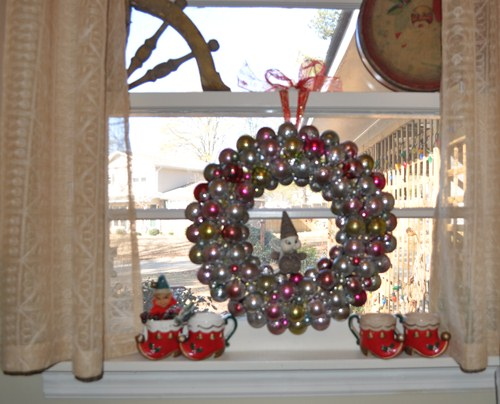 Christmas Ball Wreath from Anthropologie