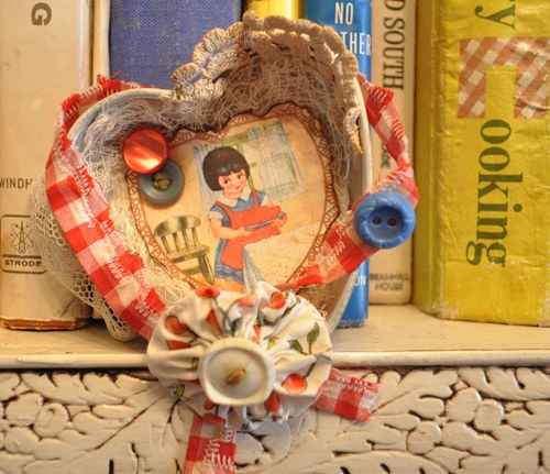 Altered Heart Jello Mold