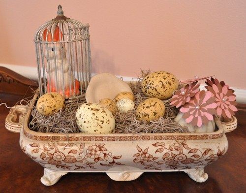 Vintage and Handmade Easter Decorations
