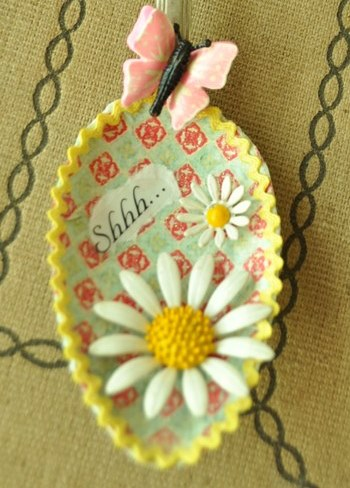 Decorated Spoon
