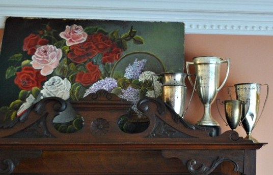 Collection of loving cups: Just Vintage Home