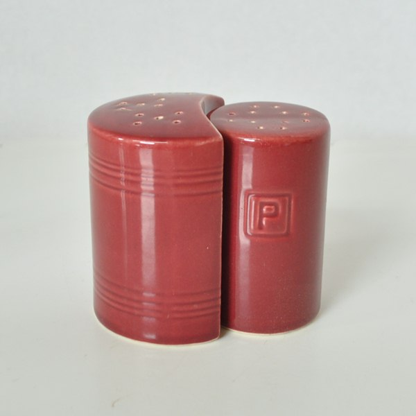 Burgundy Sevilla Salt & Pepper : Just Vintage Home