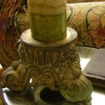 Lamp base candle stand : Just Vintage Home