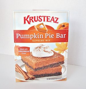 Krusteaz Pumpkin Pie Bar Mix