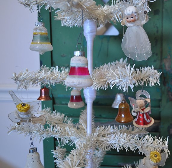 White Tree With Angels and Bells