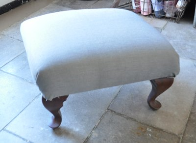 Footstool Makeover