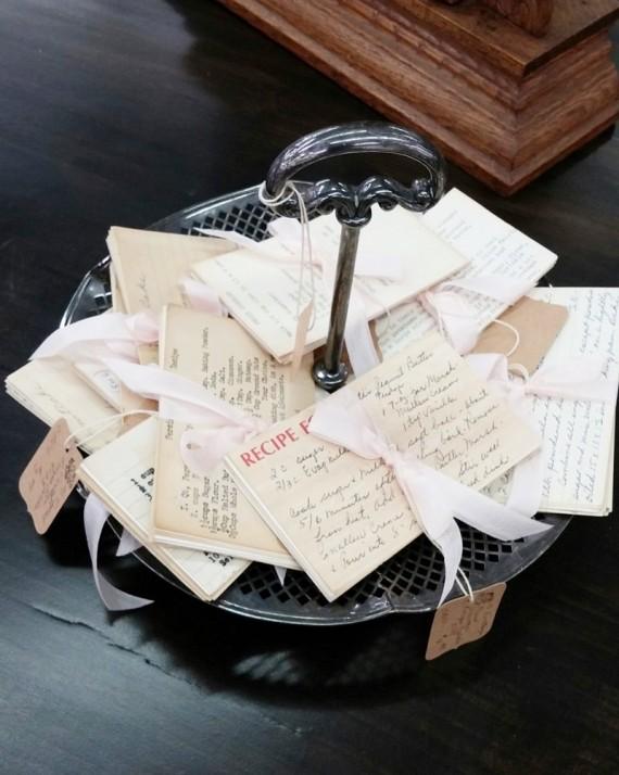 Vintage Hand Written Recipe Cards