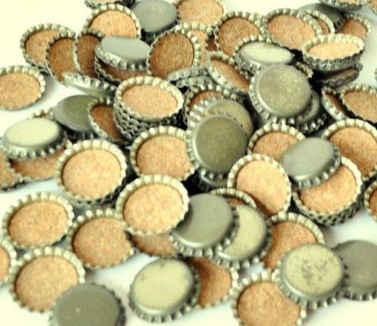 50 Unused Bottle Caps