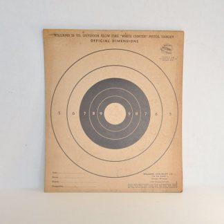 Vintage pistol targets