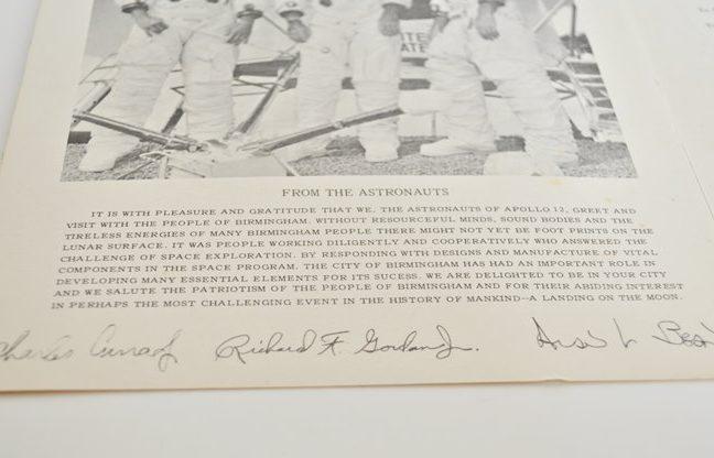Apollo 12 Memorabilia