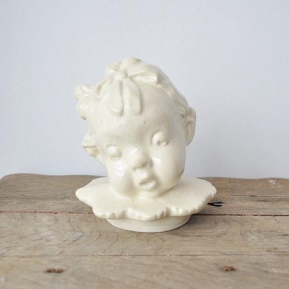Baby Head Cookie Jar Lid