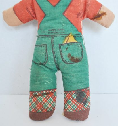 Stuffed Mike Doll from General Foods