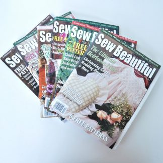 Sew Beautiful Back Issues - 2000