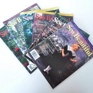 Sew Beautiful Magazine Back Issues - 1995