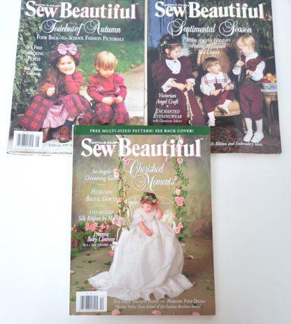 Sew Beautiful Back Issues 1996
