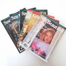 Sew Beautiful Magazine Back Issues 1997