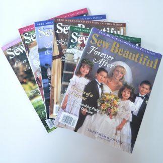 Sew Beautiful Magazine Back Issues 1998