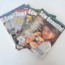 Sew Beautiful Magazine Back Issues 1999