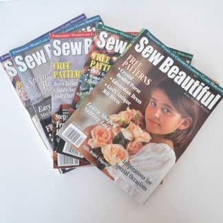 Sew Beautiful Magazine Back Issues 1999