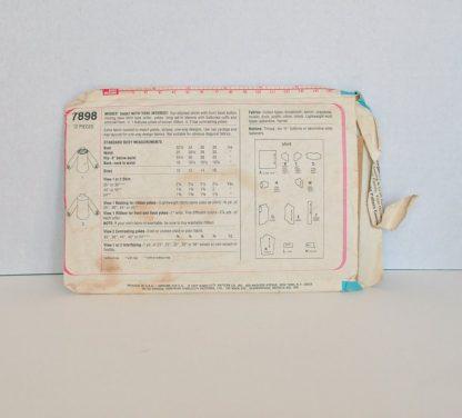 Vintage Simplicity Pattern 7898