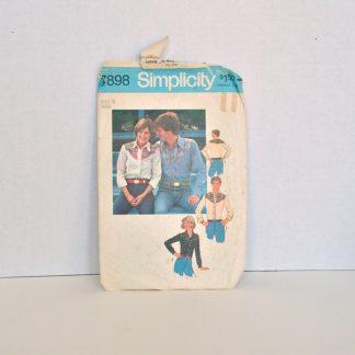 Vintage Simplicity Paattern 7898