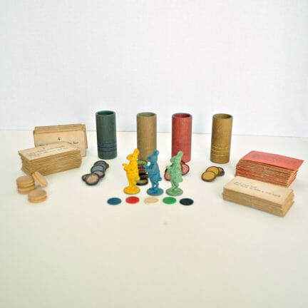 Vintage Uncle Wiggily Game Pieces