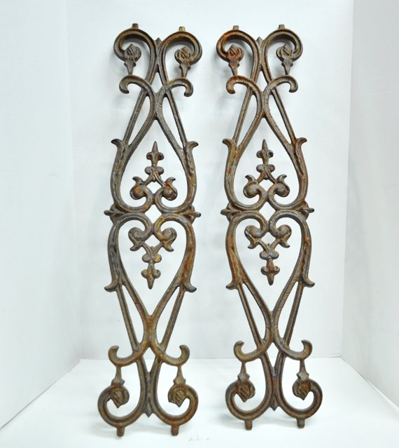 Iron Wall Accents
