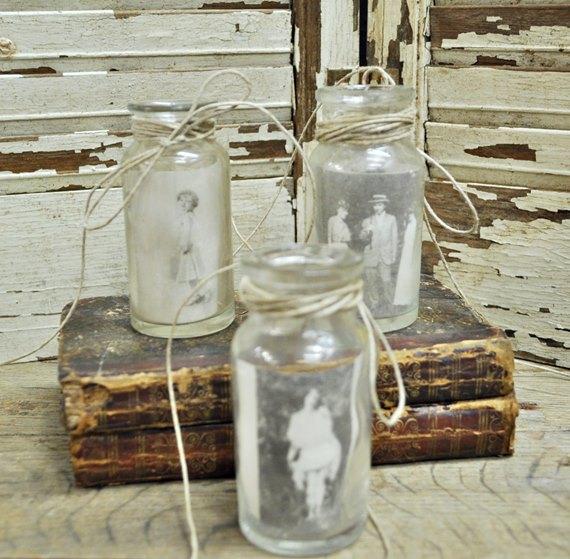Spice Jar Photo Holders