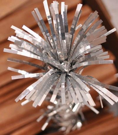 Silver Aluminum Christmas Tree