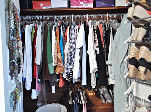 My Pitiful Closet
