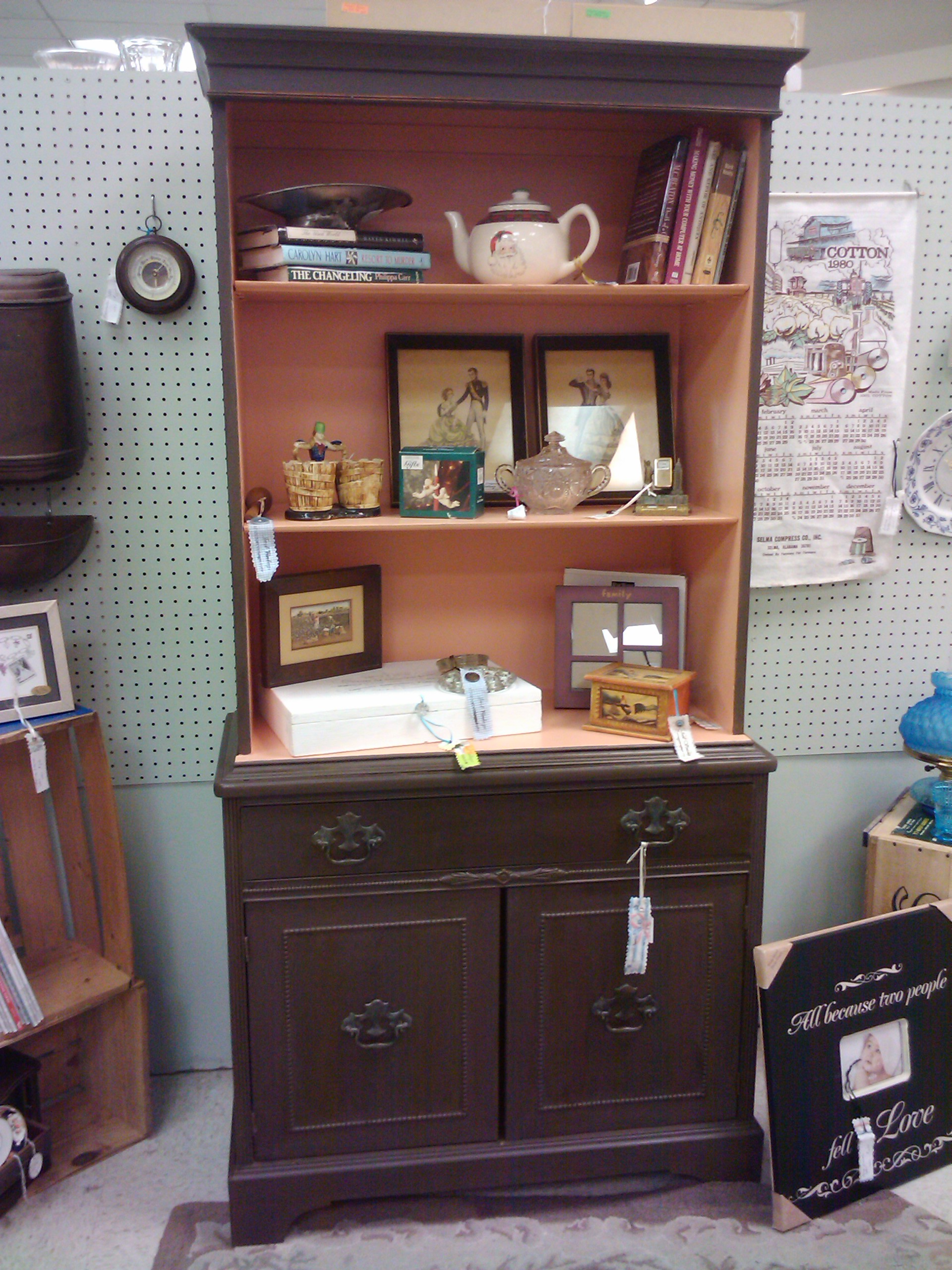 Trash To Treasure Chest and Hutch – Painted Furniture