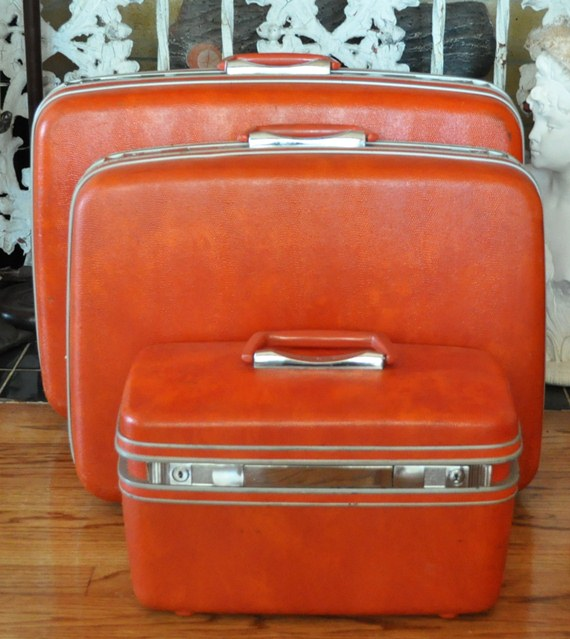 Look what I bought for $10.00! - Vintage Samsonite Luggage - Just ...