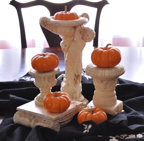 Mini Pumpkin Centerpiece