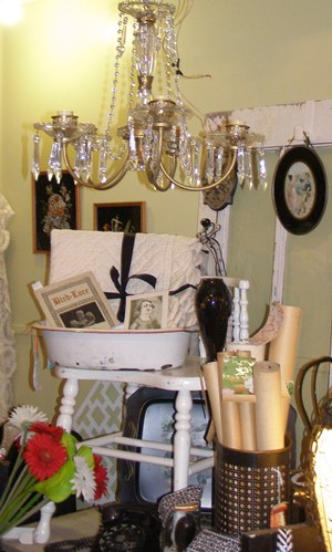 Antique Shop Display