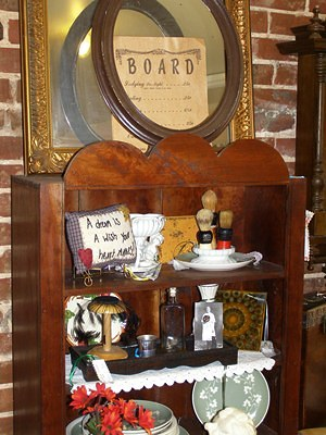 Antique Shop Display