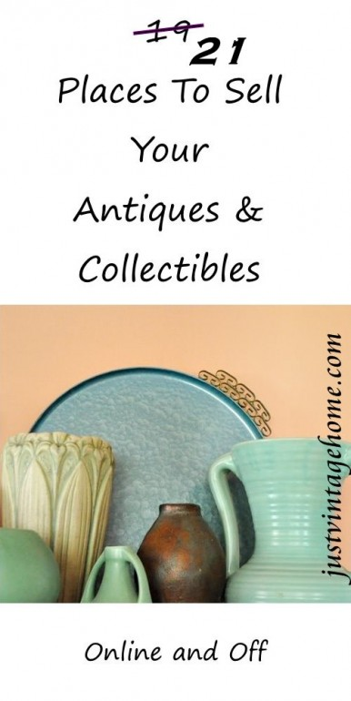 21 places to sell your antiques and collectibles where for Top selling sites online