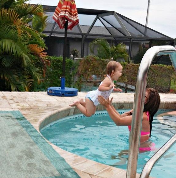 Pool Fun with Dani