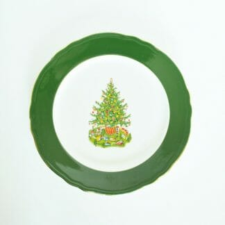 Homer Laughlin Christmas Tree Plate