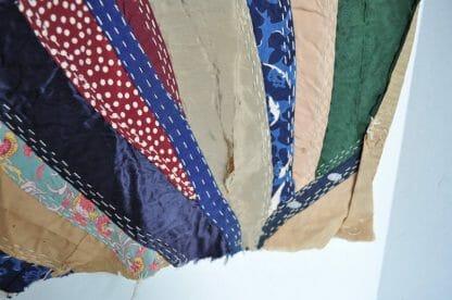 Silk Crazy Quilt Square