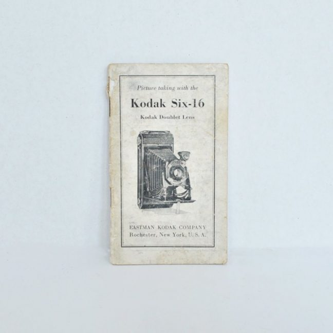 Kodak Six-16 Manual