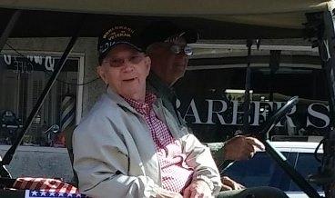 Leck Horton - Veteran's Day parade