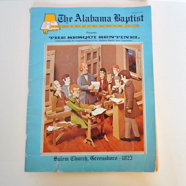 Alabama Baptist 1973 Sesqui Sentinel