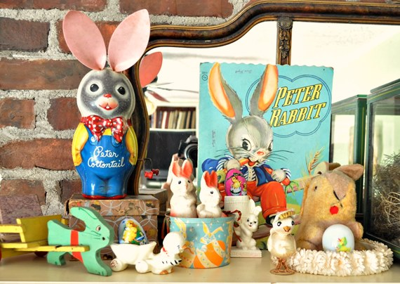 Vintage Easter Decorations
