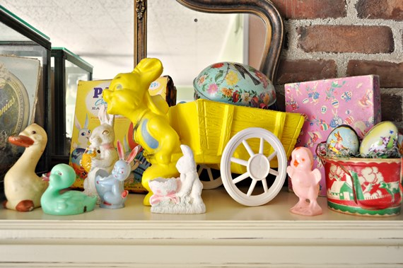 Vintage Easter Decorations