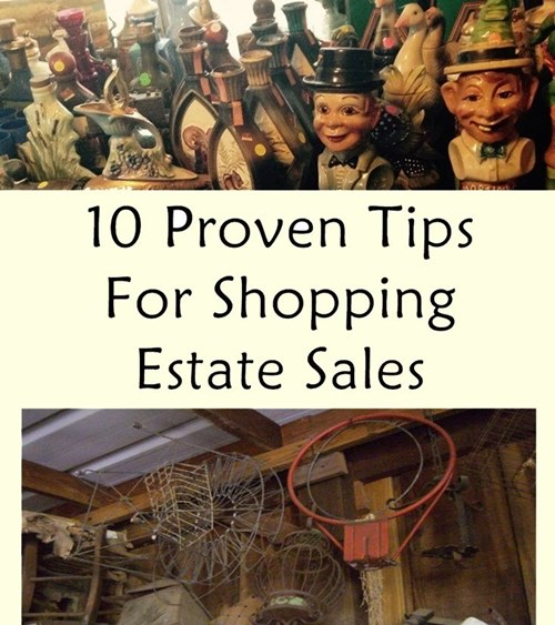10 Tips For Shopping Estate Sales