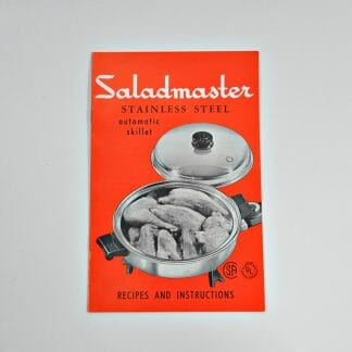 Saladmaster Recipes & Instructions for Automatic Skillet